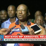 Matayos MP detained for several hours on suspicion of incitement