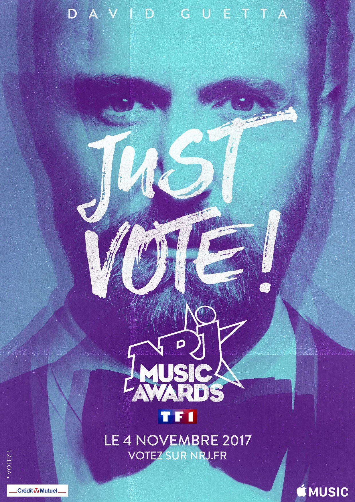 Dernière ligne droite pour voter pour @davidguetta aux @NRJMusicAwards !  https://t.co/BthNn0YAUQ https://t.co/J8h4NinFSA