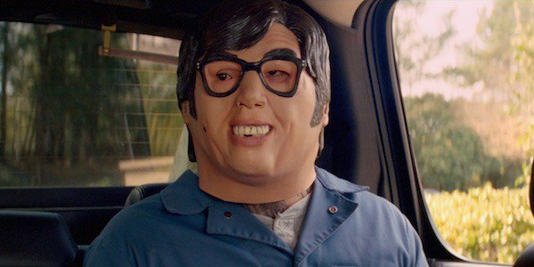 Austin Powers masks are a hot Halloween item, thanks to @BabyDriverMovie