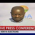 NASA PRESS CONFERENCE, RAILA ODINGA TEAM, KENYA ELECTIONS