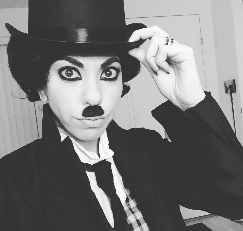 I don't actually want to wear anything but this #charliechaplin #Halloween #costume for the next week
