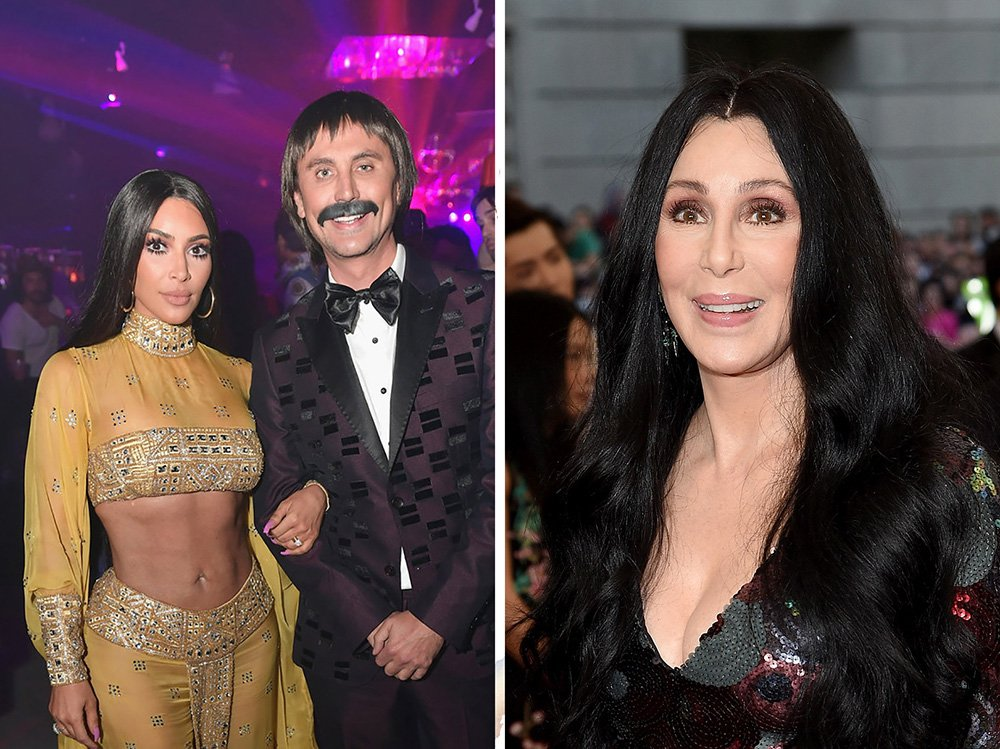 Here's what @Cher thinks of @KimKardashian's Halloween costume: https://t.co/cEtcWNwA34 https://t.co/ujOhmffIQG