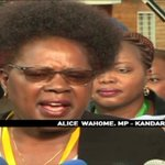 Kandara MP Alice Wahome says vote tally quarrel taken out of context