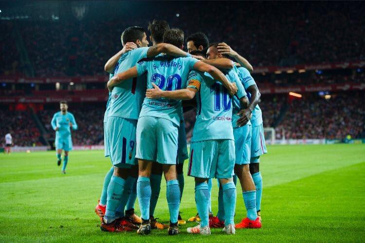 +3! ✌ Grande equipo! Força Barça! https://t.co/2UxuBupuZs