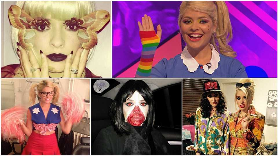 12 Halloween costumes inspired by Holly Willoughby