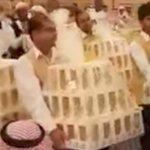 Un 'mar de iPhone 8' inunda una boda en Arabia Saudita (VIDEO)