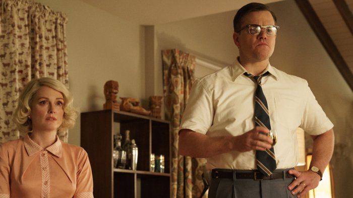 Check out our review of Matt Damon's Suburbicon, which premiered this weeknd