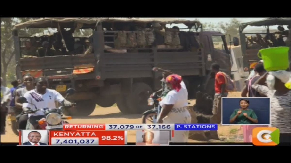 Strong police contingent deployed in Kisumu withdrawn