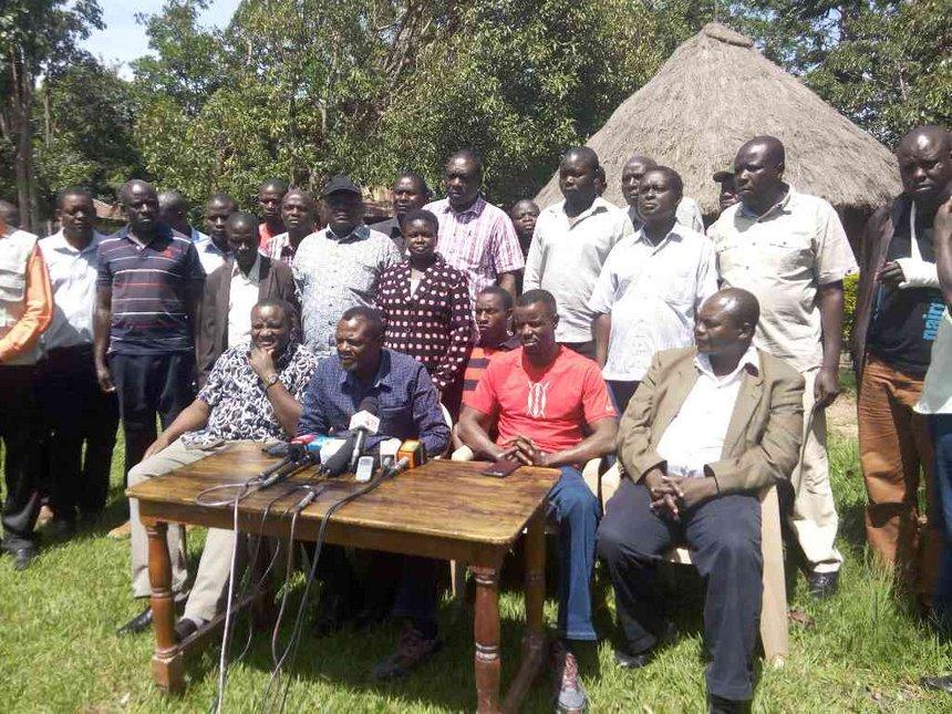 Wetang'ula to blame for Bungoma violence, Jubilee MPs say