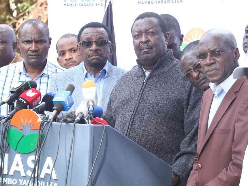 Drop in votes shows Uhuru did not win August polls - Mudavadi