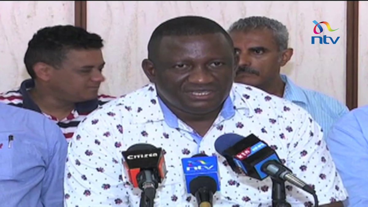 Jubilee Party leaders from the coast want IEBC to declare Uhuru Kenyatta duly elected president