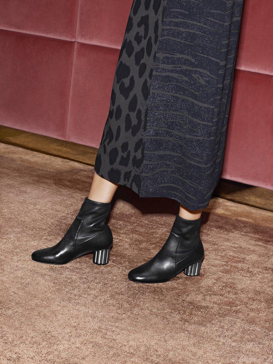 Feminine rock. The #FerragamoFW17 ankle booties featuring the flower heel. Discover more: https://t.co/nZVKPgfKKf https://t.co/J9Vs5qCOva
