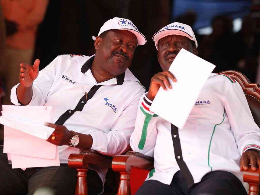 Losing Kenya to dictatorship will put Africa at risk, Mudavadi warns West