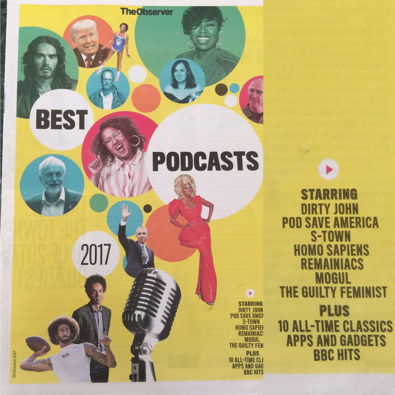 Lovely write up of Remainiacs in the Observer's best podcasts of the year feature https://t.co/PxFxu1qu6n
