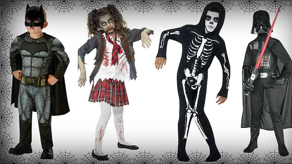 Here's 30 children's Halloween costumes from £7.50