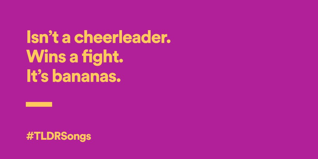 We'll keep this brief: what song have we shortened here? #TLDRSongs https://t.co/zEH22f7DHZ