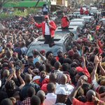 William Ruto blames opposition for Kenya poll violence