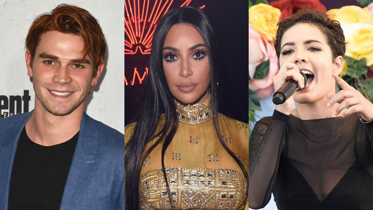 KJ Apa, Halsey, Kim Kardashian, And More Celebs Go All Out For Halloween 2017
