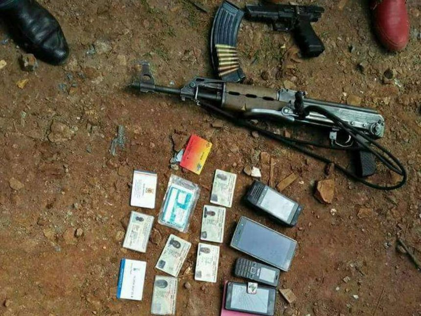 Recce squad kill three gangsters in Murang'a, recover two guns