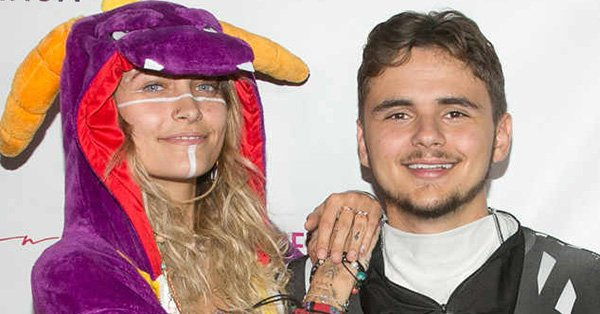 Paris Jackson and Prince Jackson both rocked onesie costumes at a Halloween event:
