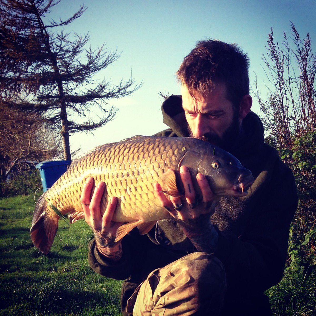 Nice little <b>Common Carp</b> #carpfishing #fishing #sunny #sunday #share #RETWEEET https://t.co/ed