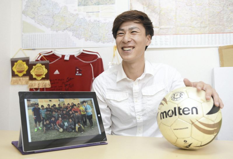 University student inspires disadvantaged Asian youth with soccer