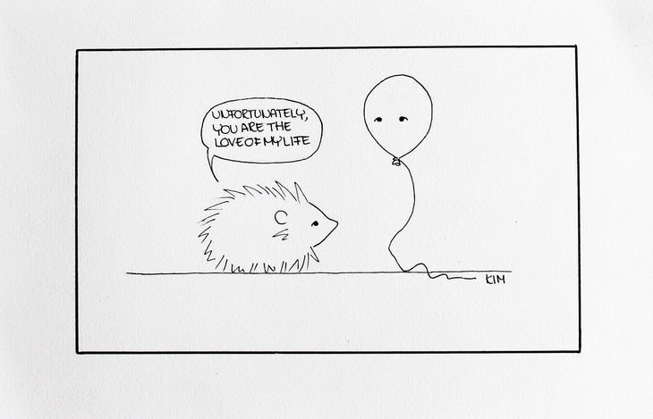 RT @hitRECord: Never related more to a hedgehog & a balloon... https://t.co/OJ3iNENRRs https://t.co/4i3RF5xZNq