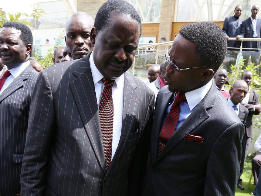 Ababu team accuses Raila of brewing violence to get power