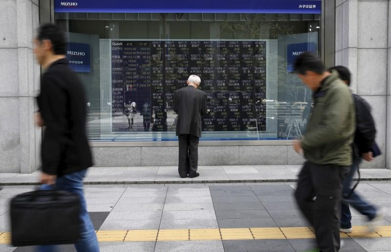 Asia shares get tech boost from Apple, crude near two-year high