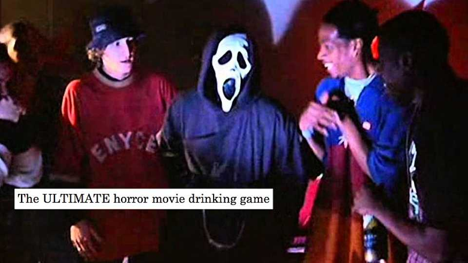 If you're planning a Halloween party, you HAVE to play this horror movie drinking