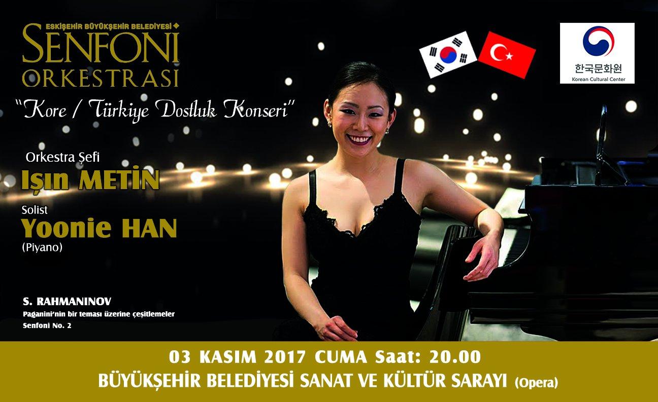 Senfoni Orkestramızın Kore-Türkiye Dostluk Konserine tüm sanatseverlerimizi bekliyoruz. #ŞehirSanattır https://t.co/ccn0cu4sfH