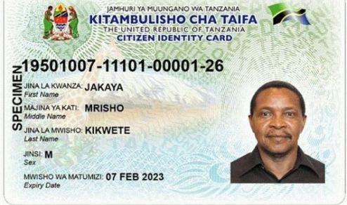 Desemba 2018 watanzania wote kuwa na vitambulisho vya Taifa
