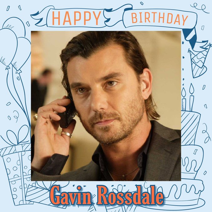 Happy Birthday to Gavin Rossdale, Ian D\sa, Jessica Hynes, Richard Aiston & Chris Slade