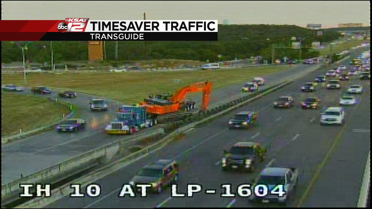 Update Eb Ih 10 Access Rd All Traffic Diverted To Wb Loop 1604