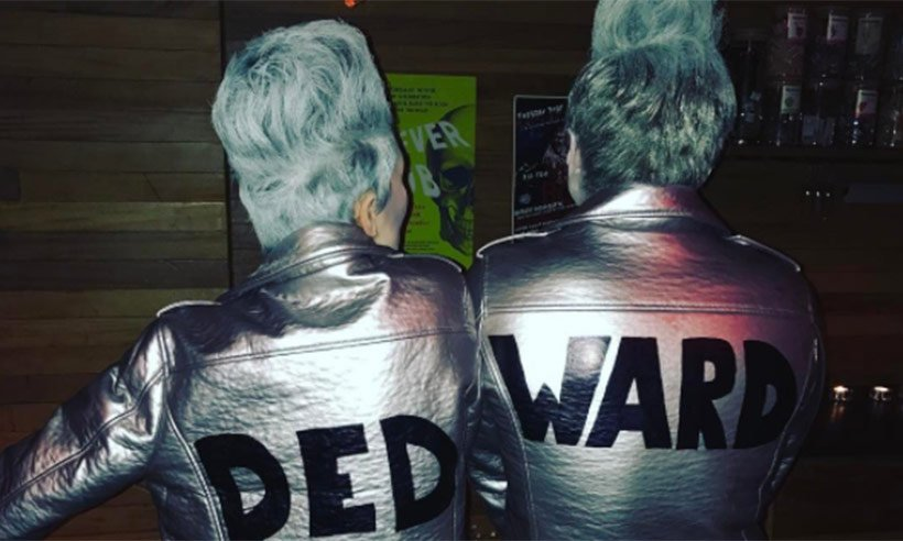 We are loving @EmmaWillis and @mattjwillis Jedward themed Halloween costumes! ?