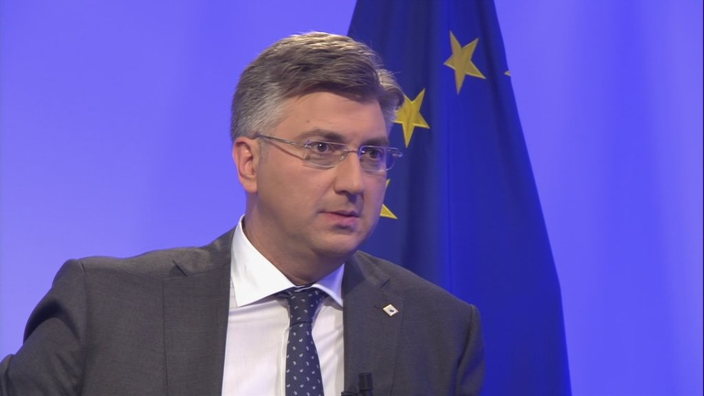 TALKING EUROPE - Andrej Plenkovic, Croatia's Europhile prime minister