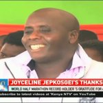 Joyceline Jepkosgei holds thanksgiving ceremony
