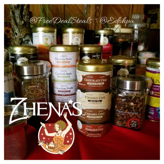 Zhena's Gypsy Tea #Giveaway! ~ Freebies Deals & Steals