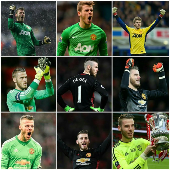 Happy 27th Birthday to our Goalkeeper, David de Gea Quintana! One of the best goalie in the world. All the best!