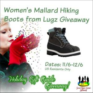 Women's Lugz Mallard Boots Giveaway