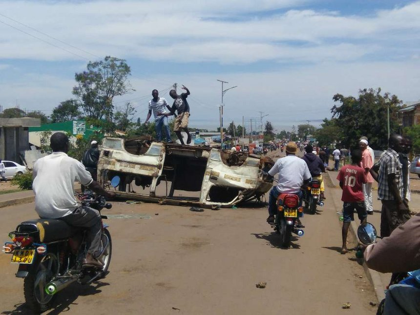Homa Bay government to pay bills for locals injured in demos