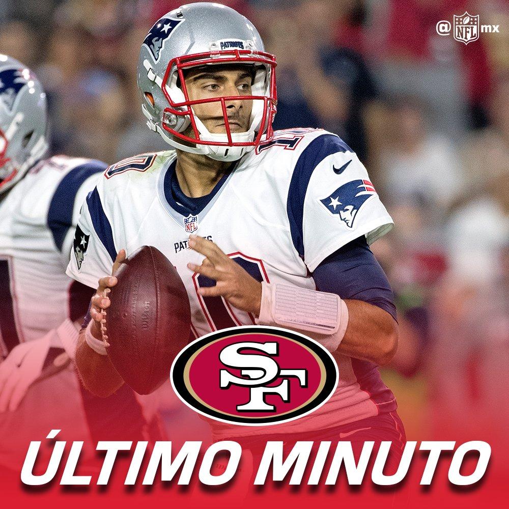 🚨🚨ALERTA🚨🚨 Jimmy Garappolo 49ers