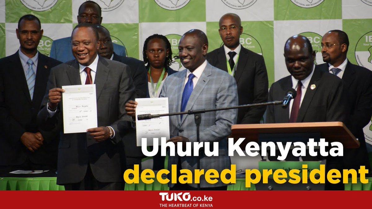 Uhuru Kenyatta's victory speech - Tano Tena