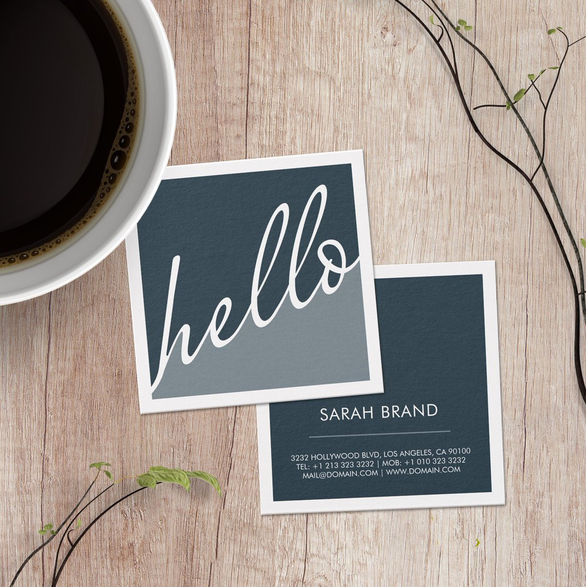 #Hello How are you! https://t.co/BzoHkuQCN8 #BusinessCards #sayhello #trendy #square #businesscard https://t.co/KU5YktrmZF