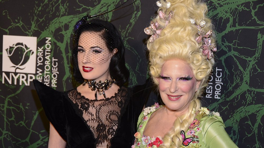 .@DitaVonTeese burlesque act banned at Bette Midler-hosted Halloween gala