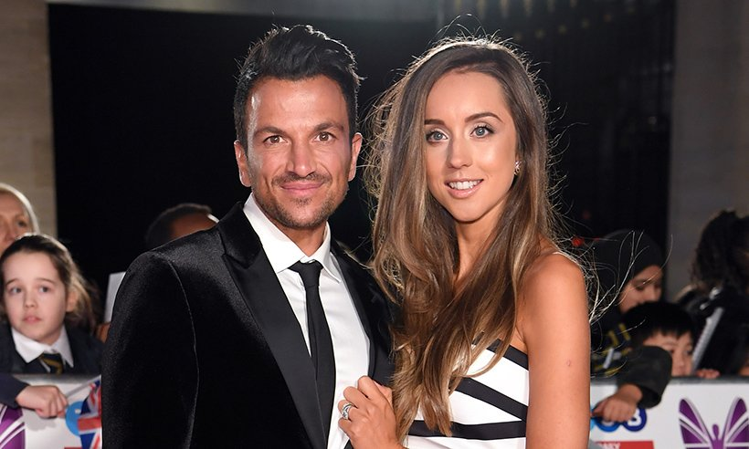 Handsome couple alert! @MrPeterAndre and wife Emily attend the @PrideOfBritain awards: