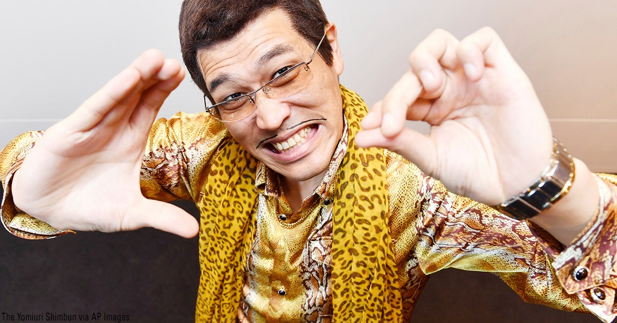 'Pen Pineapple Apple Pen' singer to sing to Trump in Japan