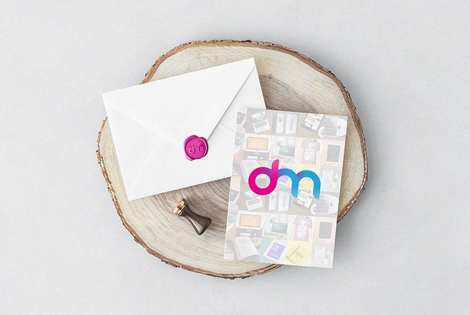 Invitation Card and Envelope Mockup PSD Mockups freepsd psd freebie download