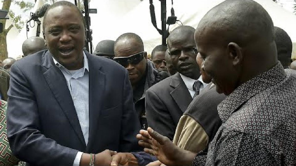 ?? Kenya: Incumbent Kenyatta wins disputed elections with 98.2 percent