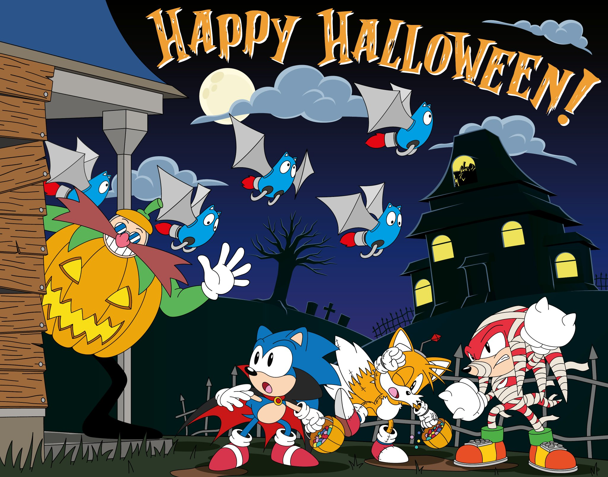 Happy Halloween, from all of us at SEGA! https://t.co/79OJqYXEID